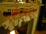 the advent calendar train