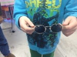 Octagonal glasses