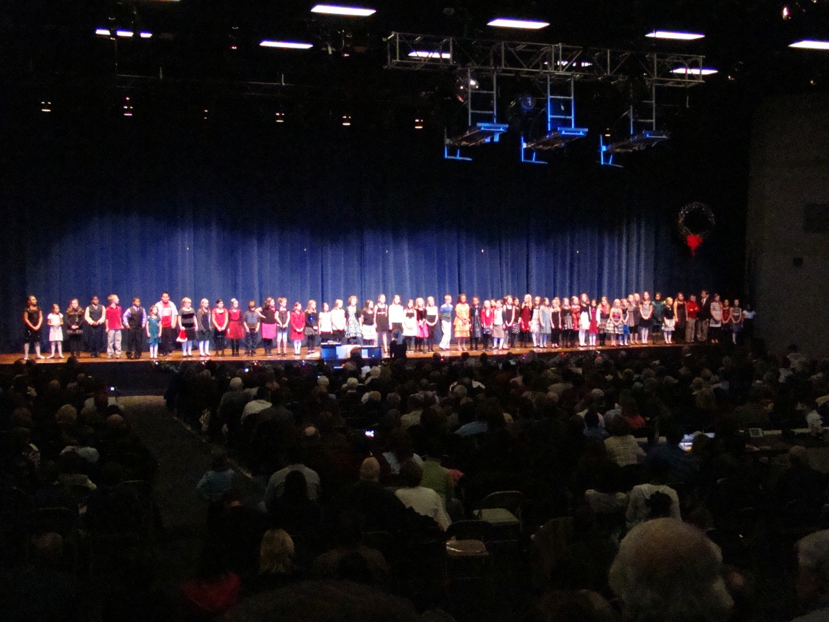 Ah, The Elementary Choir Concert...