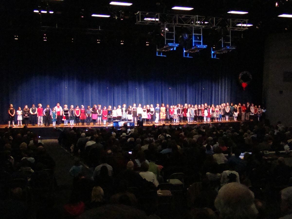 Ah, The Elementary Choir Concert...