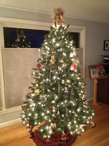 Our tree 2012