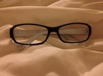 new rubber glasses
