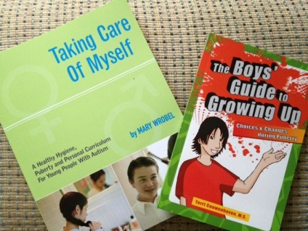 puberty books