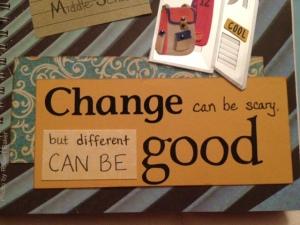 change good