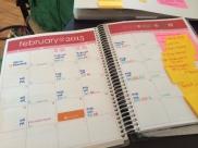 EC planner blog editorial calendar 2