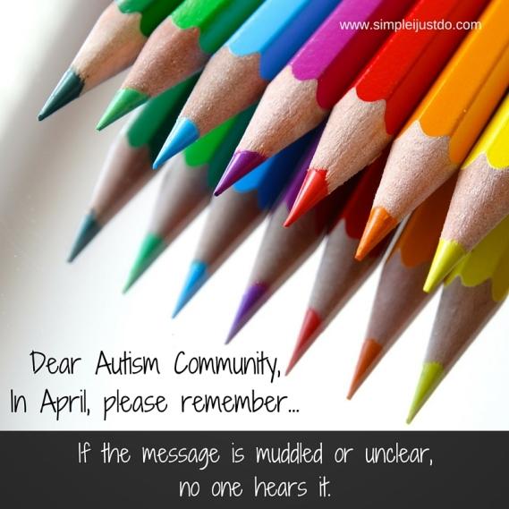 Dear Autism Community